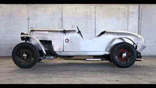 Lagonda Rapier Roadster - Verwandlung