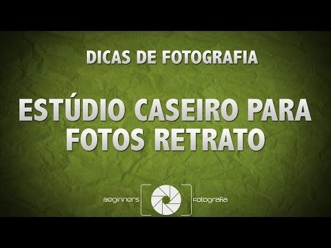 Dicas de Fotografia - Estúdio Fotográfico Caseiro Para Fotos Retrato