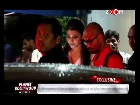 Ranveer Singh and Anushka Sharma spotted at Mehboob Studios! Bollywood News