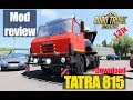 ETS2 1 31 MODS TATRA 815 Обзор Модов Euro Truck Simulator 2 mp3