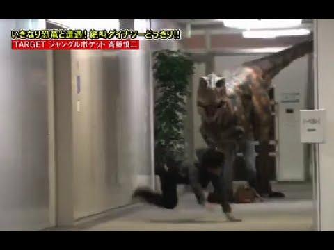 Video Lucu Dikejar Dinosaurus