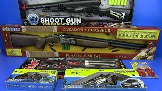 Guns Toys for Kids !!! NINJA Weapons,Hunter Rifle, Guns Toys - Video for Kids !!SURPRISE TOYS