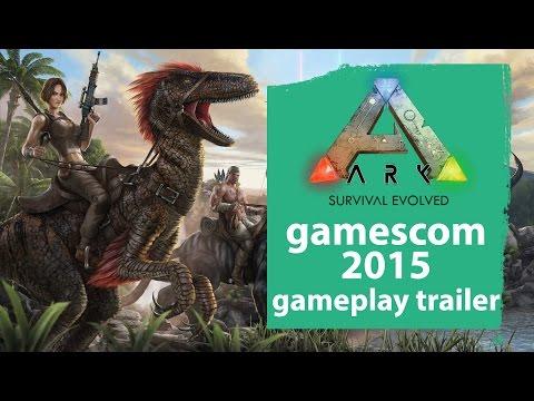 Ark: Survival Evolved Gamescom 2015 gameplay trailer