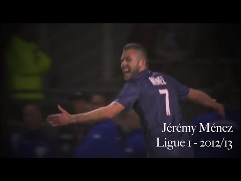 Jérémy Ménez - Goals, Passes and Skills for Paris Saint-Germain in Ligue 1 - 2012/13