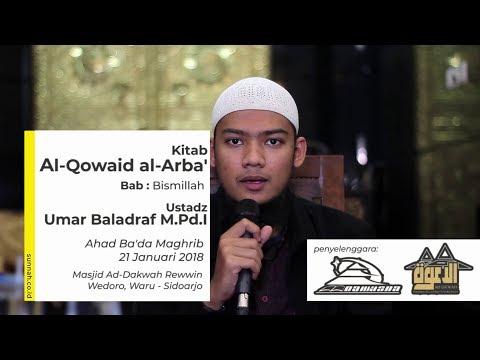 Kitab Al Qowaid al Arba' : Bismillah - Ustadz Umar Baladraf M.Pd.I