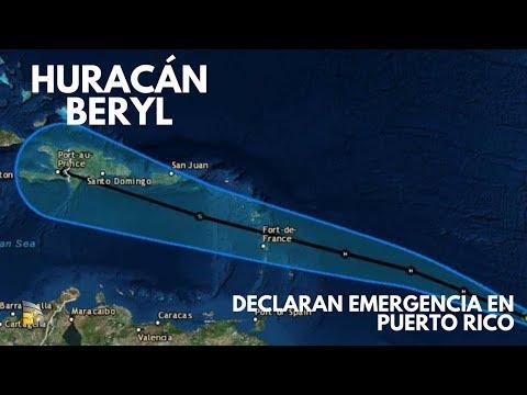 El paso del huracán Beryl │Declaran emergencia en Puerto Rico