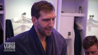 Dirk Nowitzki on LeBron James, Mavs Loss to Lakers, Tyson Chandler & Mavs Ball Movement