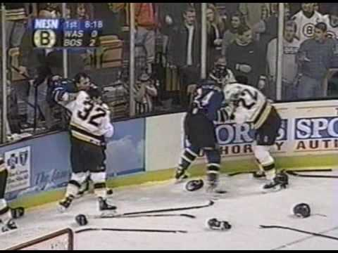 Capitals vs Bruins Nov 21, 1998