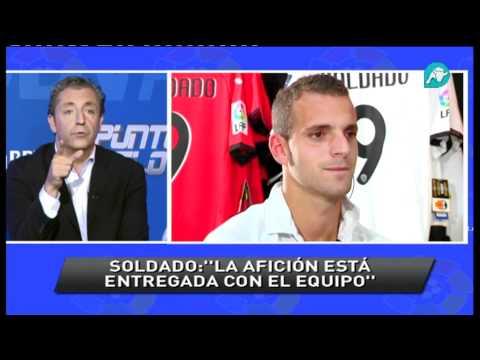 Roberto Soldado en directo, en Punto Pelota, nos explica el Valencia 2-2 Barcelona