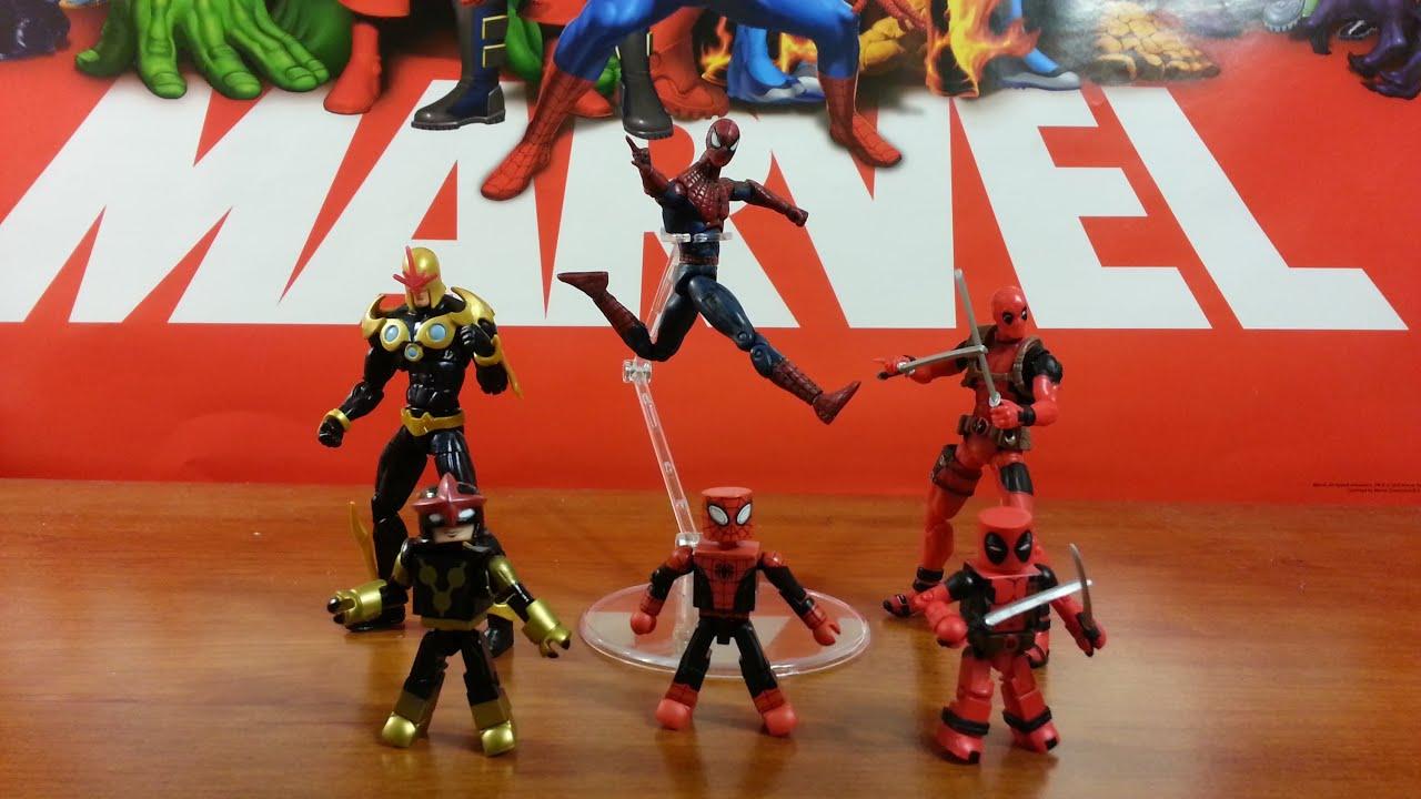 Minimates Deadpool Review Marvel Minimate Deadpool Nova