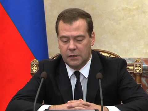 Russian PM on sanctions against US and EU