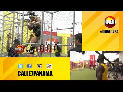 Calle 7 Panamá - Competencia de Nominadas