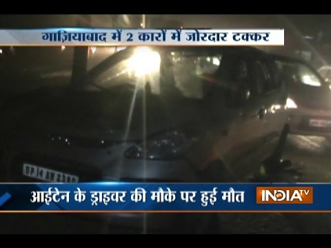 Driver Killed in Car Accident at Delhi-Meerut Highway