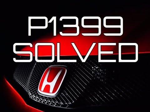 SOLVED P1399 Honda Acura V6 Accord Odyssey Ridgeline Pilot CL TL MDX Random Cylinder Misfire