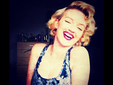 My Marilyn Monroe Hair Tutorial