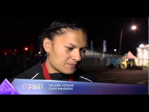 Another commonwealth gold for Valerie Adams