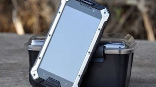 Защищенный смартфон Conquest S6 в нашем видеообзоре