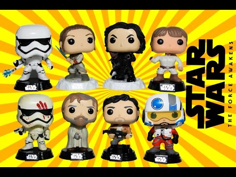 NEW Star Wars Funko Pop Collection Review Bespin Luke - FN-2199 - FN-2187 Funko Pops