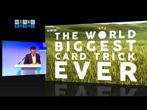 Mariano Tomatis: if you want to live longer, expose yourself to wonders - Full WIRED2014 talk