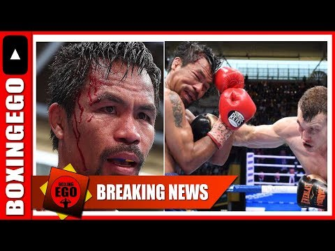 BREAKING NEWS!! MANNY PACQUIAO PULLS OUT OF JEFF HORN
