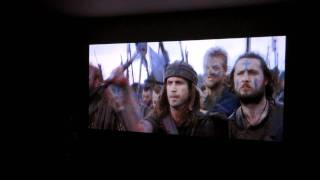 Projector LED LG HW300G (HW300T) + bluray Braveheart Part one Before the war