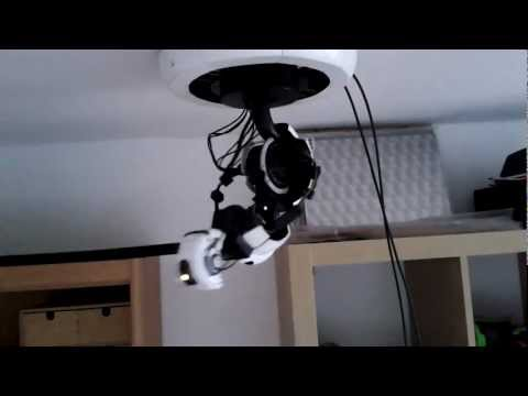 Moving GlaDOS Lamp