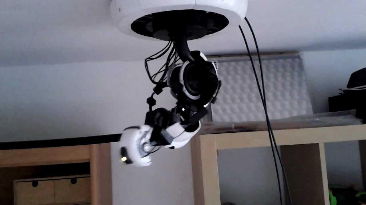 Portal Glados Lamp Moving Glados Lamp