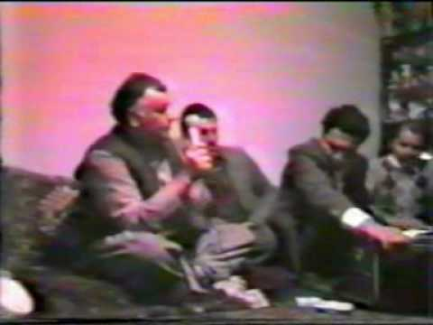 Mir Fakhrudin Agha majlesi with Tabla and Harmonium-  Afghan Naat Sharif Part 1
