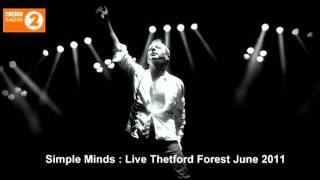 Simple Minds : Somewhere Somehow In Summertime (Live Thetford Forest June 2011)
