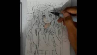 How to Color Skin With Sakura Koi Watercolor