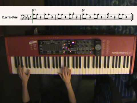 Play Funk Piano  - Part 1 - Chameleon in Bb