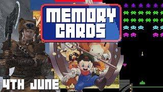 Memory Cards - June 4th   SPACE INVADERS/HARVEST MOON/MORROWIND
