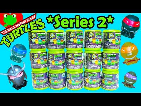 Teenage Mutant Ninja Turtles Mashems Series 2 TMNT Series 2 Mashems Full Set