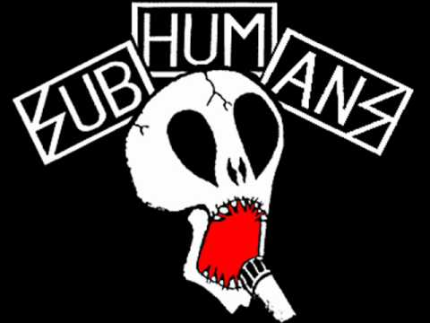 Subhumans - Too Fat Too Thin