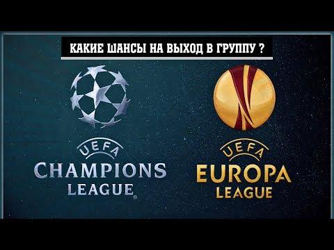 Кто пройдет в группу? Все пары раунда плей-офф ЛЧ и ЛЕ 2018-2019. | Лига чемпионов и Лига Европы.