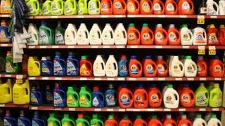 Throw household products off the scent