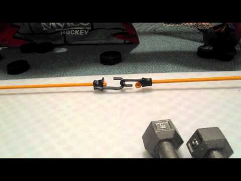 how to make a hockey shooting pad