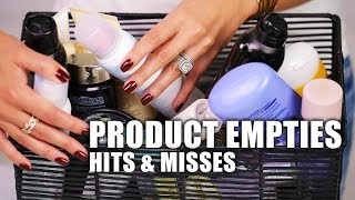 PRODUCT EMPTIES | Hits & Misses