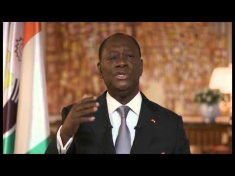 Nouvel an 2016: Le Président ivoirien Alassane Ouattara s'adresse à la Nation