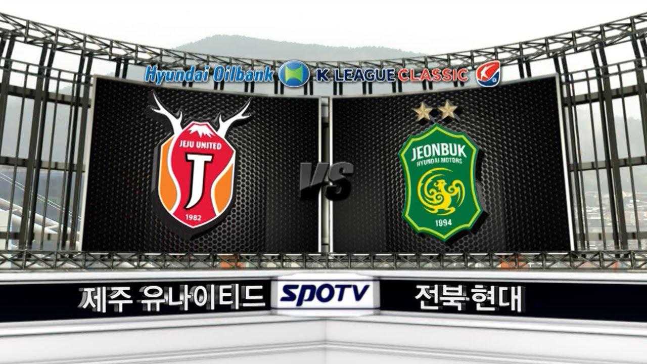 Jeju United 0-3 Jeonbuk Hyundai Motors