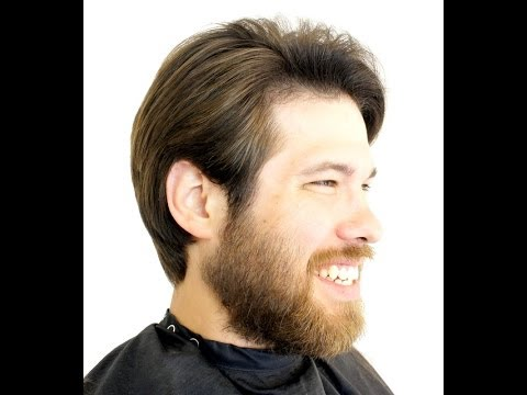 How to cut men's haircut  Gentleman's Haircut part #1