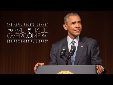 The Honorable Barack Obama's keynote speech at the LBJ Library