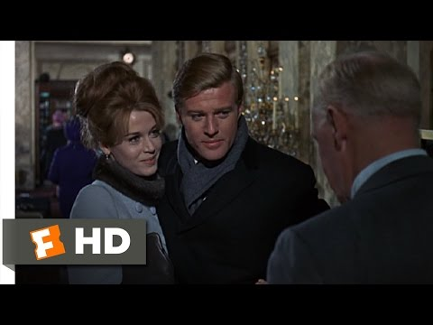 Barefoot In The Park (1/9) Movie CLIP - Arriving At The Plaza (1967) HD