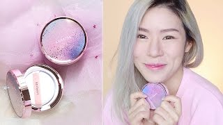 LANEIGE BB CUSHION REVIEW -  Whitening BB Cushion  - Unboxing & Try On - Cushion Foundation Review