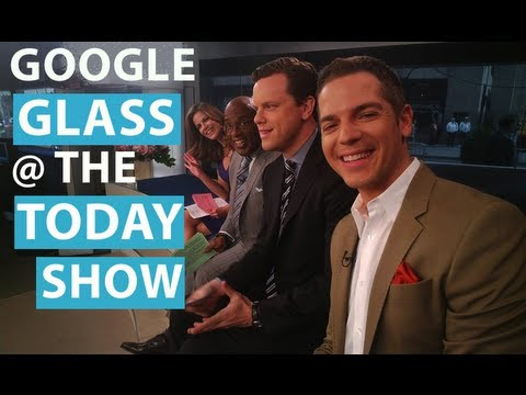 Google Glass POV: Today Show & New York Stock Exchange