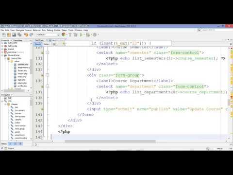 13 – Student Portal in PHP/MySQL (Pashto)