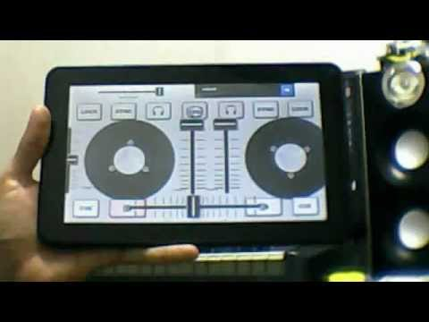 VIRTUAL DJ Y TABLET ANDROID
