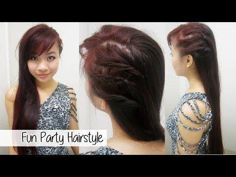 Edgy Party Hairstyle