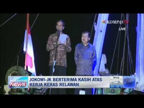 Jokowi: Salam 3 Jari, Persatuan Indonesia