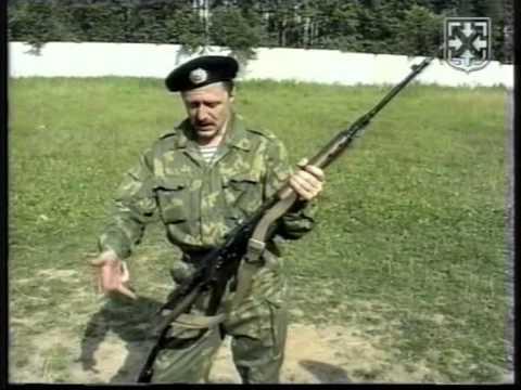 Стрельба с использованием ремня АК. СВД